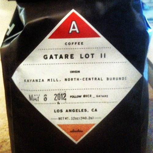 Afternoon #Coffee w/Mom & Sis #MothersDay Weekend ~ Gatare Lot II #HandsomeCoffee #Barundi ~ #CoffeeIsMyCrack #dope  (Taken with instagram)