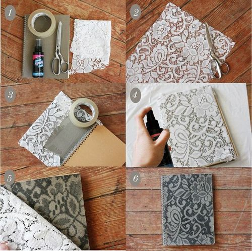 Make your own lace journal!