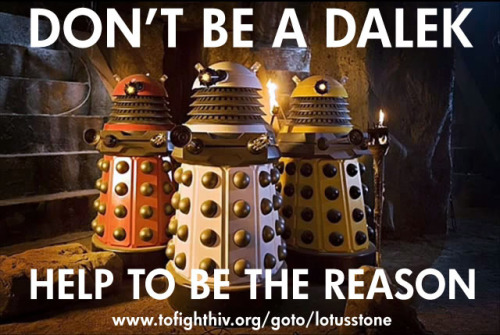 DONT BE A DALEK by lotusstone on Flickr.