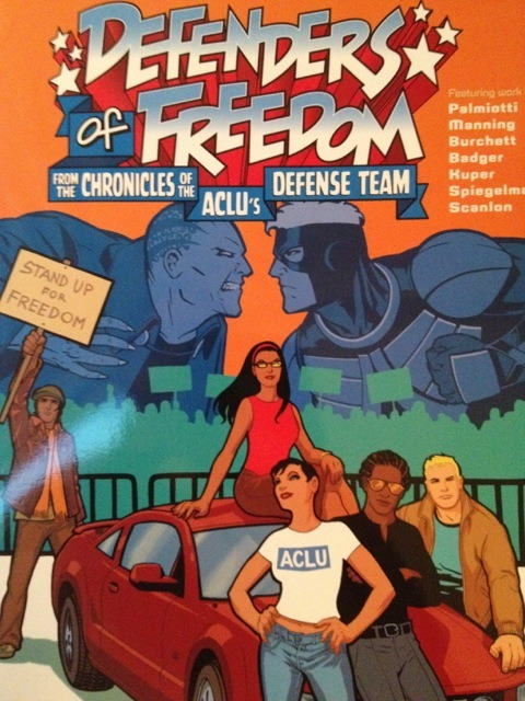 #hivebuzz An ACLU comic book about freedom and civil rights.