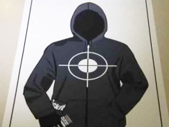 "HOW ARE WE DOING AS A SOCIETY? Trayvon Martin gun range targets were sold online ""to make money off the controversy,"" report says – The targets reportedly do not show Martin's face, but feature a hoodie with crosshairs aimed at the chest. A bag of Skittles is tucked in the pocket and a hand is holding a can resembling iced tea. Martin reportedly was carrying both items the night of his death.  […] According to WKMG, the seller of the targets told them in an email exchange that the ""main motivation was to make money off the controversy."" – CBS News"