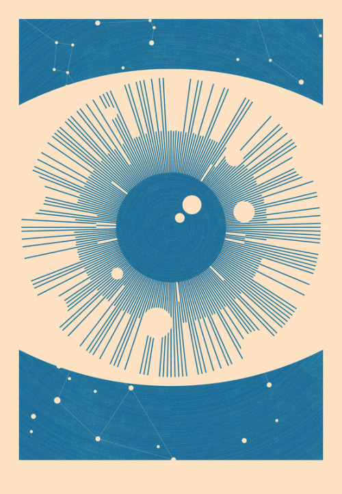 2headedsnake:  society6.com Simon C Page - Astronomical Eye