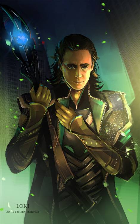 redaengus:  Loki by *sheer-madness