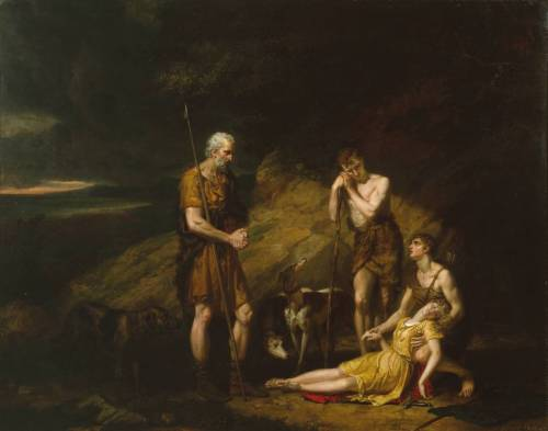 """Imogen Found in the Cave of Belarius"" - George Dawe"
