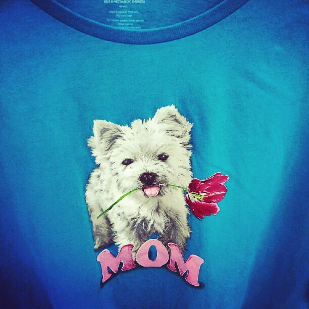 Wouldn't this be an awesome shirt to get your mom for Mother's Day! Haha! (Taken with instagram)