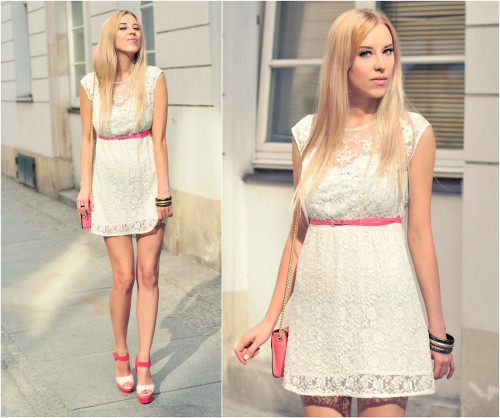 lookbookdotnu:  WHITE LACE (by Meri Wild ♥)