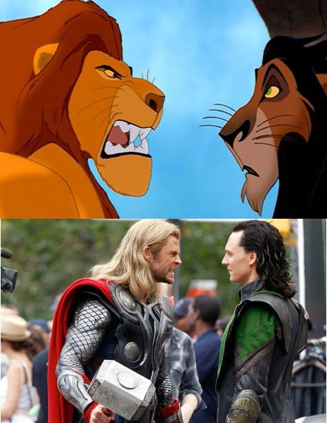 Loki and Thor in a past life maybe? THIS EXPLAINS EVERYTHING.