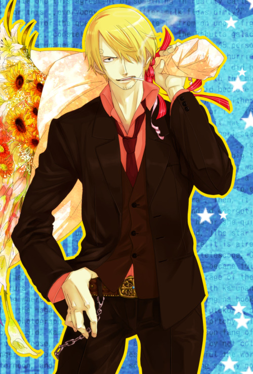 screw-zoro-sanjis-hotter:  So much hottness *_*