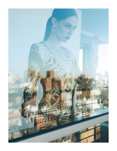 icekev:  COCO ROCHA FOR ELLE BRAZIL MAY 2012   The dress