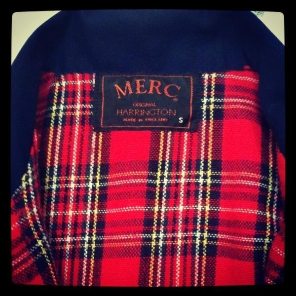 Found my #Merc Harrington jacket while cleaning! Yay! It's big on me. #DontCare
