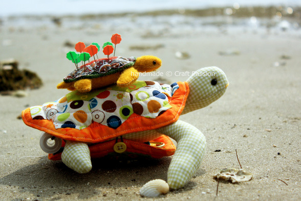 DIY Turtle Pincushion by Craft Passion