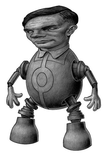 Turing Robot by Tim Maclean on Flickr.