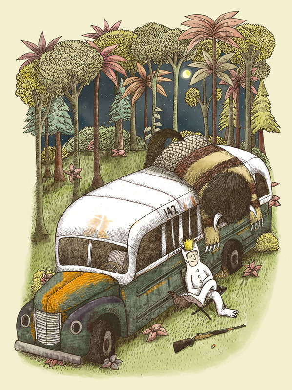 society6.com Alvaro Arteaga - Into the wild things