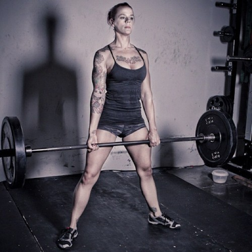 Carrie @helfette looking awesome! Go girl! #riseabovefitness (Taken with instagram)