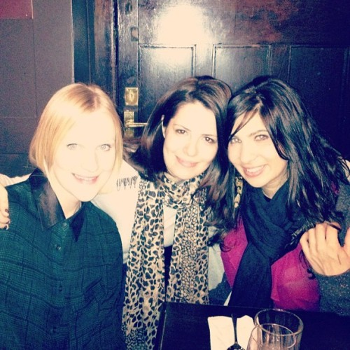 Bride and bridesmaids 1 year on. #reunion #london  (Taken with instagram)