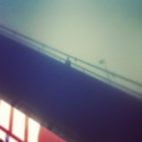 #shadows #bridge #latergram (Taken with instagram)