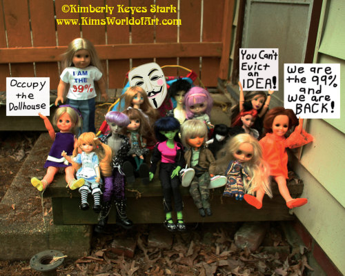 They are back! The Occupy the Dollhouse activists try to re-take its former site in Dollotti Park. Now through June 23 you'll be able to see and purchase print versions of these photos at Artomatic 2012 in Crystal City, Virginia. The Occupy the Dollhouse exhibit is located on the 10th floor in room 166.