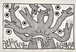 Keith Haring, Untitled, 1980