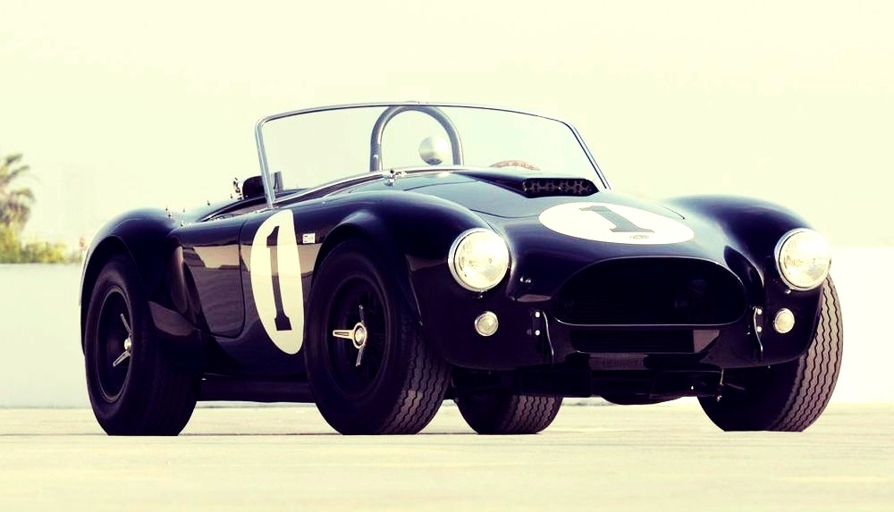 theoldiebutgoodie:  1962 AC Shelby Cobra. The First Ever Produced.