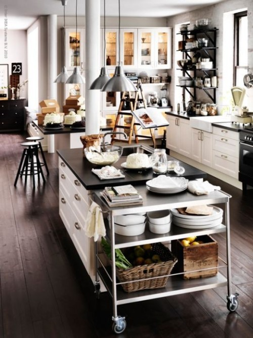 micasaessucasa:  Cool Industrial Kitchen Designs That Inspire