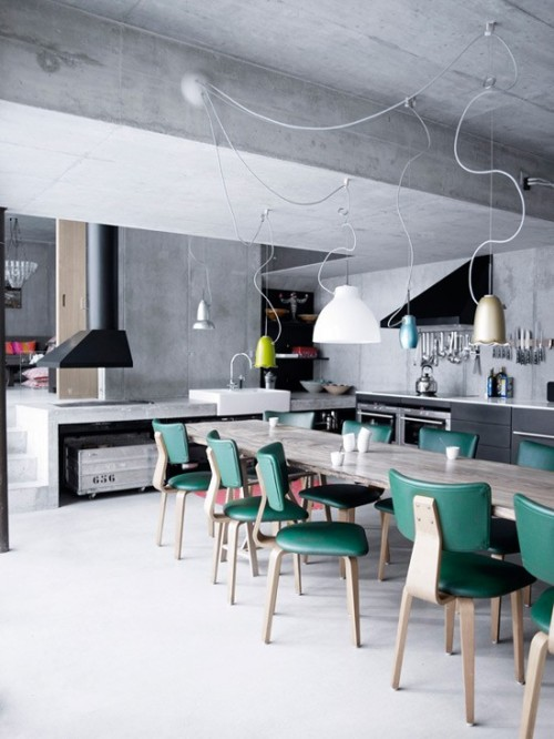 micasaessucasa:  Industrial Kitchen