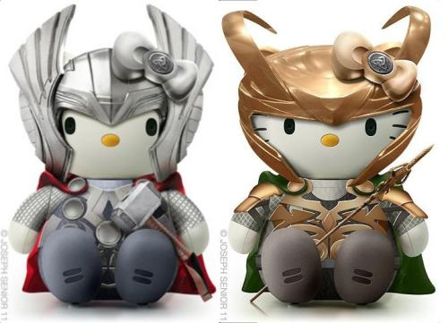 Need! STAT!!!!! randomthoughtsbymike:  Hello Asgardians.  by Joseph Seniorhttp://flickr.com/photos/josephsenior
