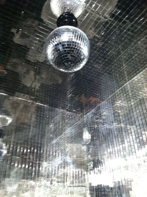 Disco bathroom @ Donut Plant / Chelsea