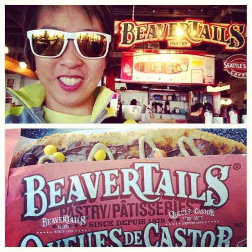 #picstitch feels like home! #beavertails (Taken with Instagram at Beaver Tails Pastry)