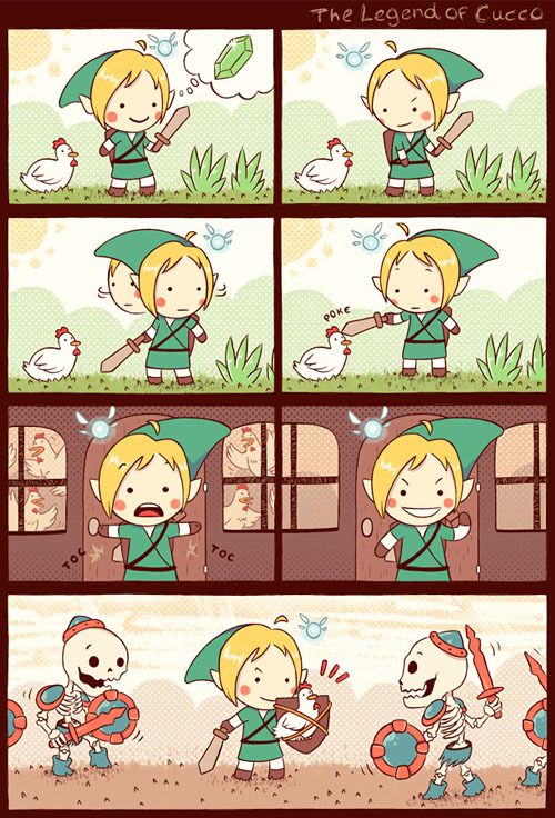 Link's best idea ever. XD