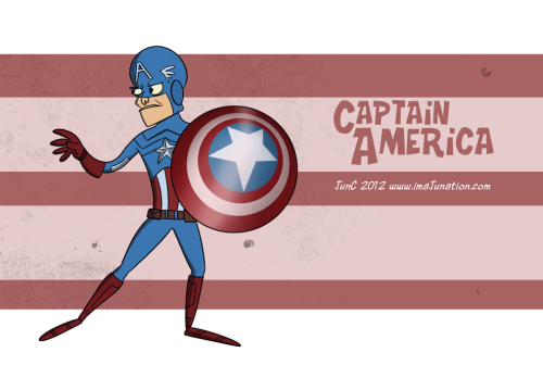 xombiedirge:  Marvel Illustrations by Junaid Chundrigar / Website Now watch the animated short 'DISASSEMBLE' which accompanies these pieces. No you have to, GO NOW! But seriously it is just a delight….HERE.