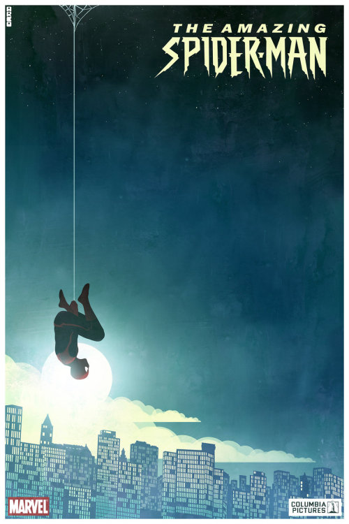 cakesandcomics:  The Amazing Spider-Man poster 3 by *Arco2002