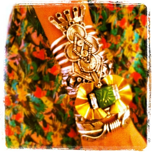 Now that's an #armparty #dannijo @manrepeller @danielleasnyder @jodielynns  (Taken with instagram)