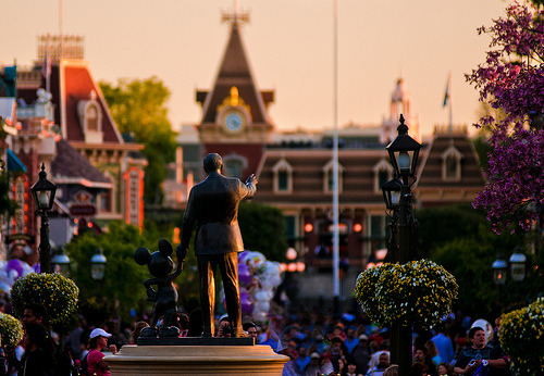 Disneyland - Partners Sunset (by Tom Bricker (WDWFigment))