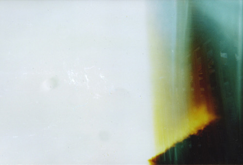A light leak of mine. No editing has been applied to any of them in my collection!
