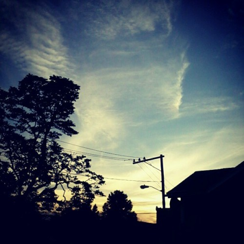 Sun's setting :) (Taken with instagram)