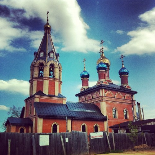 #Church in the #Moscow #region. (Taken with instagram)