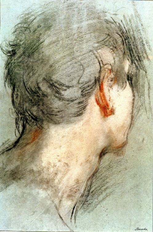Federico Barocci Head of a man 16th century