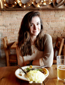 anymeal:  Kate Arends at Aster Cafe in Minneapolis, Minnesota.
