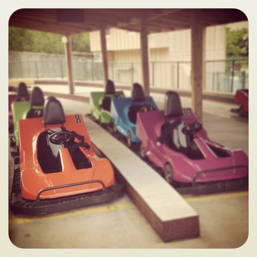 also, karts. (Taken with instagram)