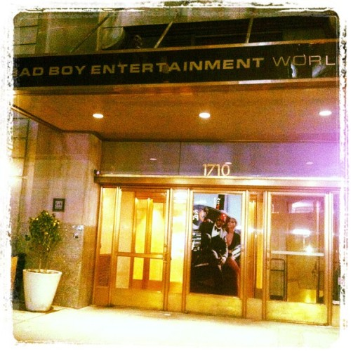 Bad Boy Ent. offices (Taken with instagram)