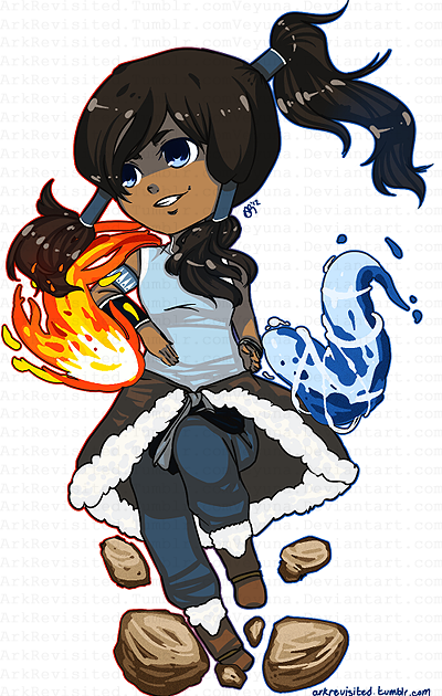 Korra! :D From Avatar: The Legend of Korra! I made this as an example of the $5 chibi commissions I might be opening soon /___\