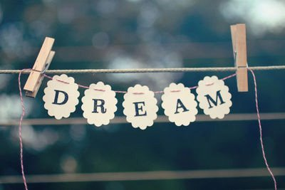 Dream big .. ♥