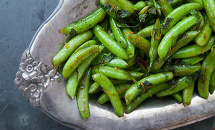 beautifulpicturesofhealthyfood:  Sugar Snap Peas Salad…RECIPE
