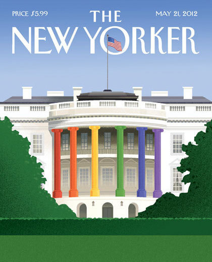 Gay Cover: The New Yorker This is for next week's edition.