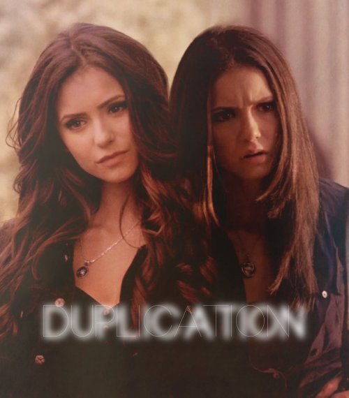 "AU meme - TVD characters as metahumans Elena Gilbert, Katherine Pierce: Duplication ""Why do I look like her?"" Elena demands. She tears her eyes away from the woman she hopes is an illusion. Stefan's got that look, his ""I'm sorry"" look, the same one he had the first time he changed her world forever.""He hasn't told you?"" the woman asks. She's all smiles, like this isn't impossible. ""Elena Gilbert? She's not real. You're not real."" Suddenly there's another woman behind the first, identical in every way. It's this second one that says, ""You're a copy, an inferior one at that.""""Stefan…,"" Elena says weakly, reaching for her boyfriend. He takes her hand instantly.""Katherine's power is duplication - but there's no reason to assume-""""What?"" Elena demands. ""That I'm not real? Or that I am? How can I not be real? I've got a life and a family. I grew up two miles from here!""One of the Katherines cuts in. ""All information that could easily be planted by a decent telepath."" Elena wants to hit her but she's afraid if they touch one of them might disappear. She's afraid it'll be her.""A whole town, Katherine?"" Stefan asks. ""It's unlikely.""""But not impossible.""Stefan shakes his head. His hand grips Elena's tighter. ""There's as much reason to assume she's real as there is you. We can't be sure of anything at this point."" The original Katherine scoffs as her duplicate winks out of existence. ""Face it, Stefan, your girlfriend is just a pale imitation of me."""