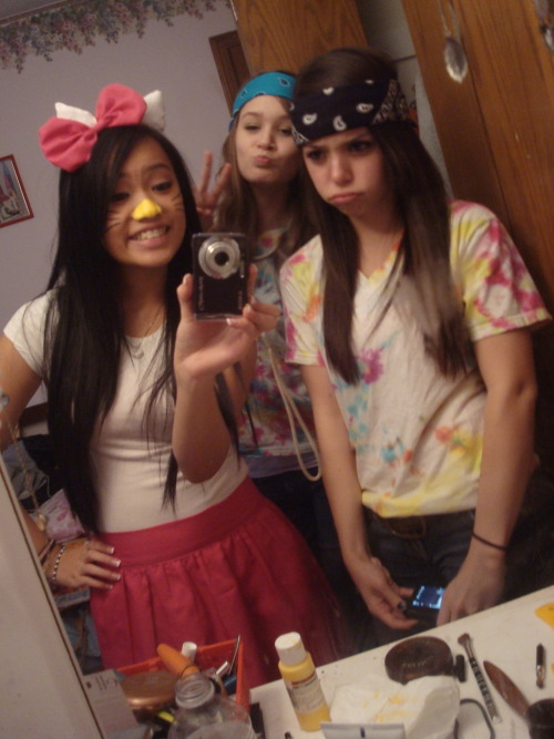 i was hello kitty for halloween, lol :)