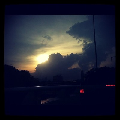 Just beautiful #iphoneography #experimental #kl #sunset #photography  (Taken with instagram)