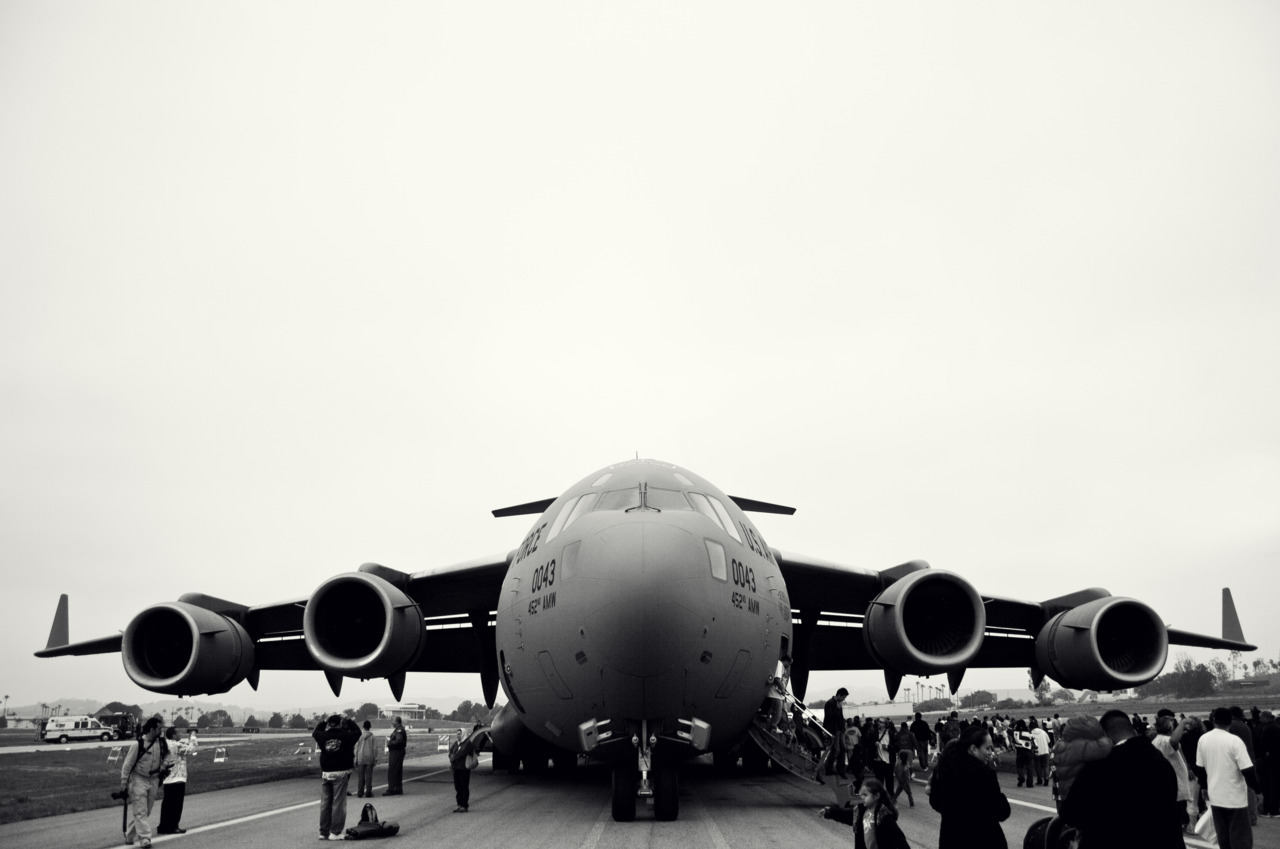 C-17, in Black and White