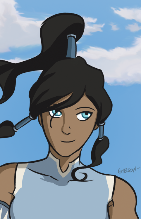 I drew some Korra fanart because she's so awesome.