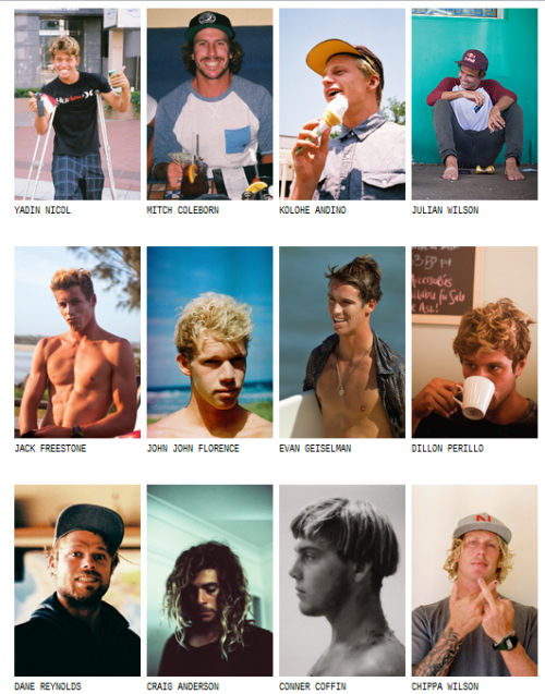 summerhigh:  s-e-a-s-h-o-r-e:  indigoblu-e:  What Youth Surfers  all faves  omg i love them all <3 perfect